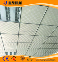 Vinyl Covered Gypsum Ceiling Tiles,Pvc Gypsum Tile,Pvc Laminated Gypsum Ceiling