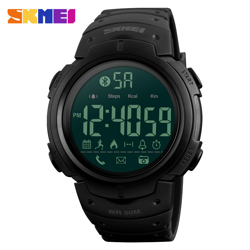 1301 SKMEI Smart Watch Luxury Brand Pedometer Calorie Remote Camera Digital Wristwatches Bluetooth Smartwatch Sports Watches