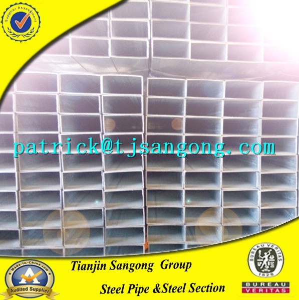China Supplier Mild Steel Pipes/Tubes/Square Pipe/PG Tube