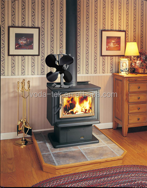 heat powered eco stove top fan for wood log coal fire. Black Bedroom Furniture Sets. Home Design Ideas