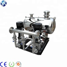 Small intermediate pumping station pressurization system without negative pressure water supply equipment