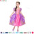 Party Time Brand purple royal princess dress kids party costumes children halloween costumes