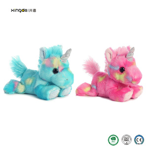Dongguan BSCI manufacturer stuffed plush toy custom unicorn