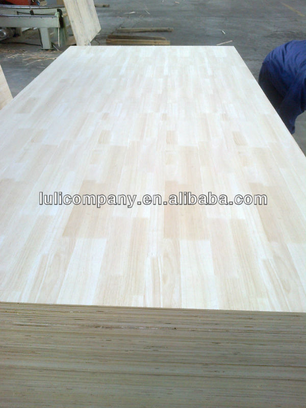 natural rubber veneer faced plywood
