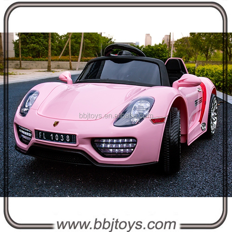 tour sur la voiture lectrique 12 volt rose rose voiture vendre enfants rose jouet voiture. Black Bedroom Furniture Sets. Home Design Ideas