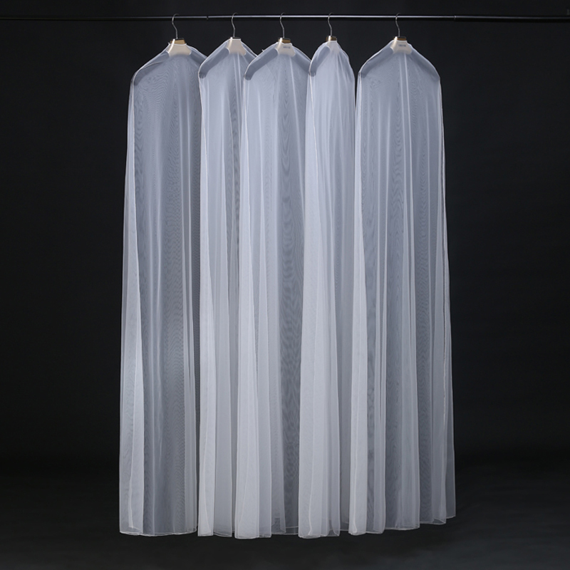 Wholesale organza Garment Bags, Bridal Gown Bag Cover, organza Wedding Dress Dust Cover
