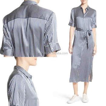 2a8535fa313 De camisas de vestir para mujeres de oficina Formal dama ropa venta al por  mayor vestido