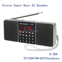 newest good quality double channels stereo speaker pc amplifier speaker box with FM/USB/TF card/3.5mm aux jack