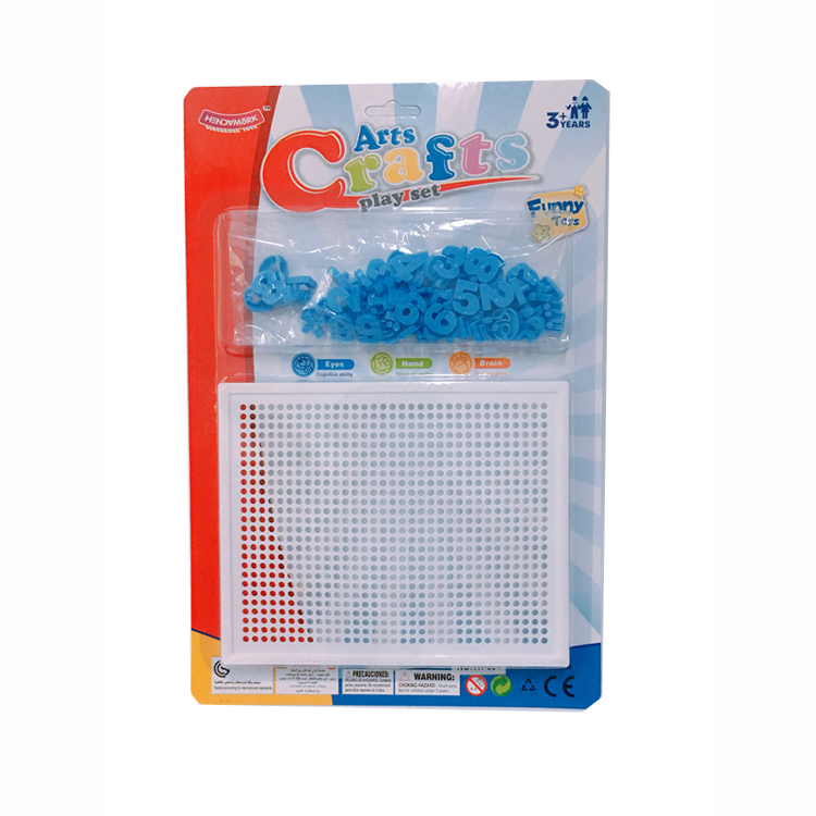 Art Crafts Play Set Digital Letter Puzzle with 64 Pieces