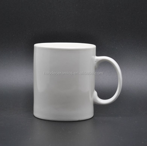 Manufacture direct wholesale top grade classic 11 oz white sublimation mugs