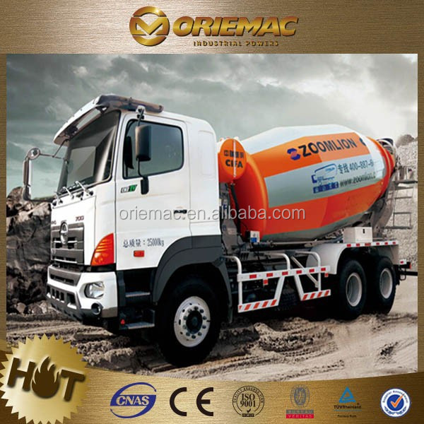 China best zoomlion 6x4 Concrete Mixer portable truck mounted mixers