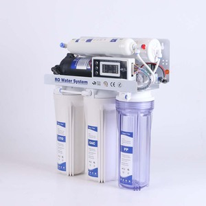 75 gallon home ro water purifier machine 5 stage water filtration system with TDS display filter replacement remind