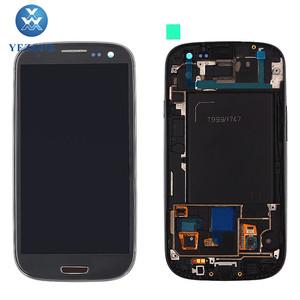 Factory Price Display S3 i747, For Samsung Galaxy S3 i747 LCD Digitizer, LCD Display For Samsung Galaxy S iii S3 sgh-i747