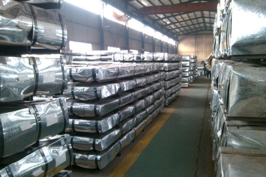 SGCC DX51D  0.35mm Hot Dipped Galvanized Corrugated Steel / Iron Roofing Sheets Metal Sheets from China