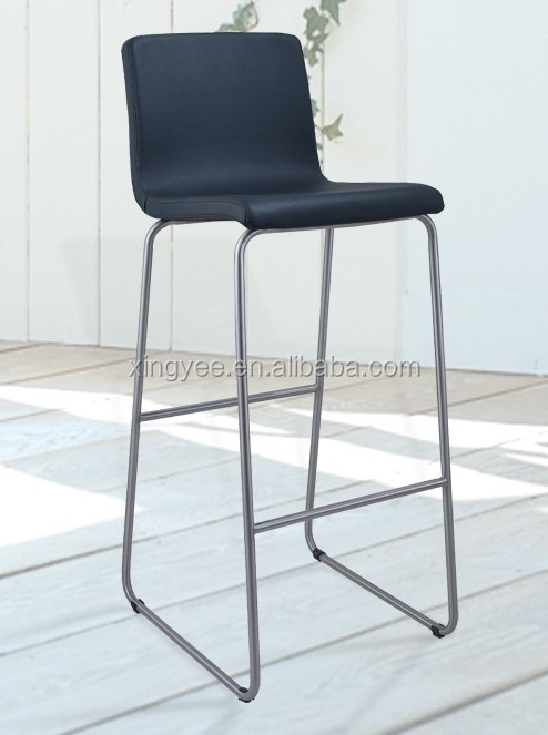 Terrific Bar Chair Modern Furniture Brushed Stainless Steel Bar Counter Stools Pu Leather Kitchen High Chair Bar Stool Buy High Bar Stools Pu Seat Bar Machost Co Dining Chair Design Ideas Machostcouk