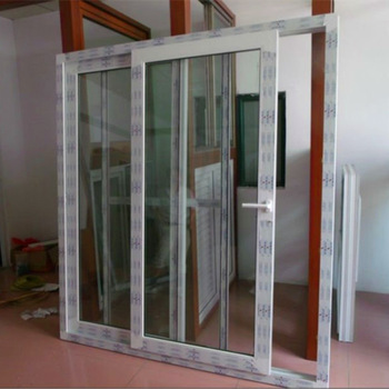 3 track two panels pvc patio sliding doors kitchen panel for Panel tracks for patio doors