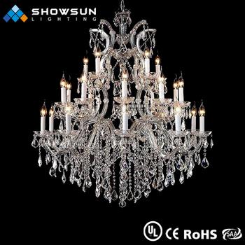 Expensive Crystal Chandeliers Multicolor Indoor Decoration - Buy ...
