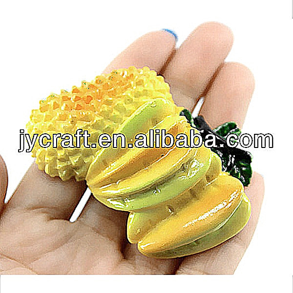 3d decorative artificial fruit resin craft