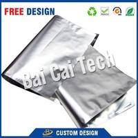 Free sample new design high quality PVC/PET material recycled custom printed vacuum foil bag