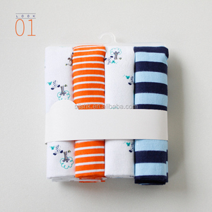 100% COTTON BABY FLANNEL RECEIVING BLANKET