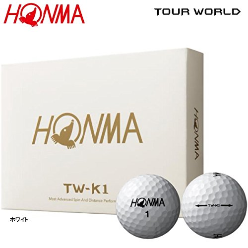 dc2574e053bd6 Get Quotations · Honma TW-K1 Tour World Golf Balls 1 Dozen