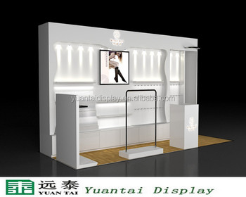 Design Wood Display Cabinet With Lights For Women Underwear