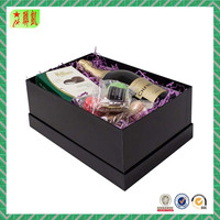 Luxury Plain Cardboard Gift Box for Wine Glasses Packaging