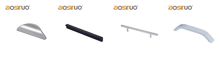 Aluminium meubels handgrepen edge aluminium profiel kast handvat pull lange meubels handgrepen