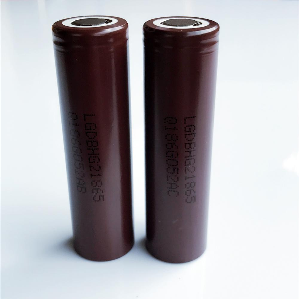 100% Genuine High quality INR18650 LG HG2 3000mah li-ion rechargeable 18650 20A battery