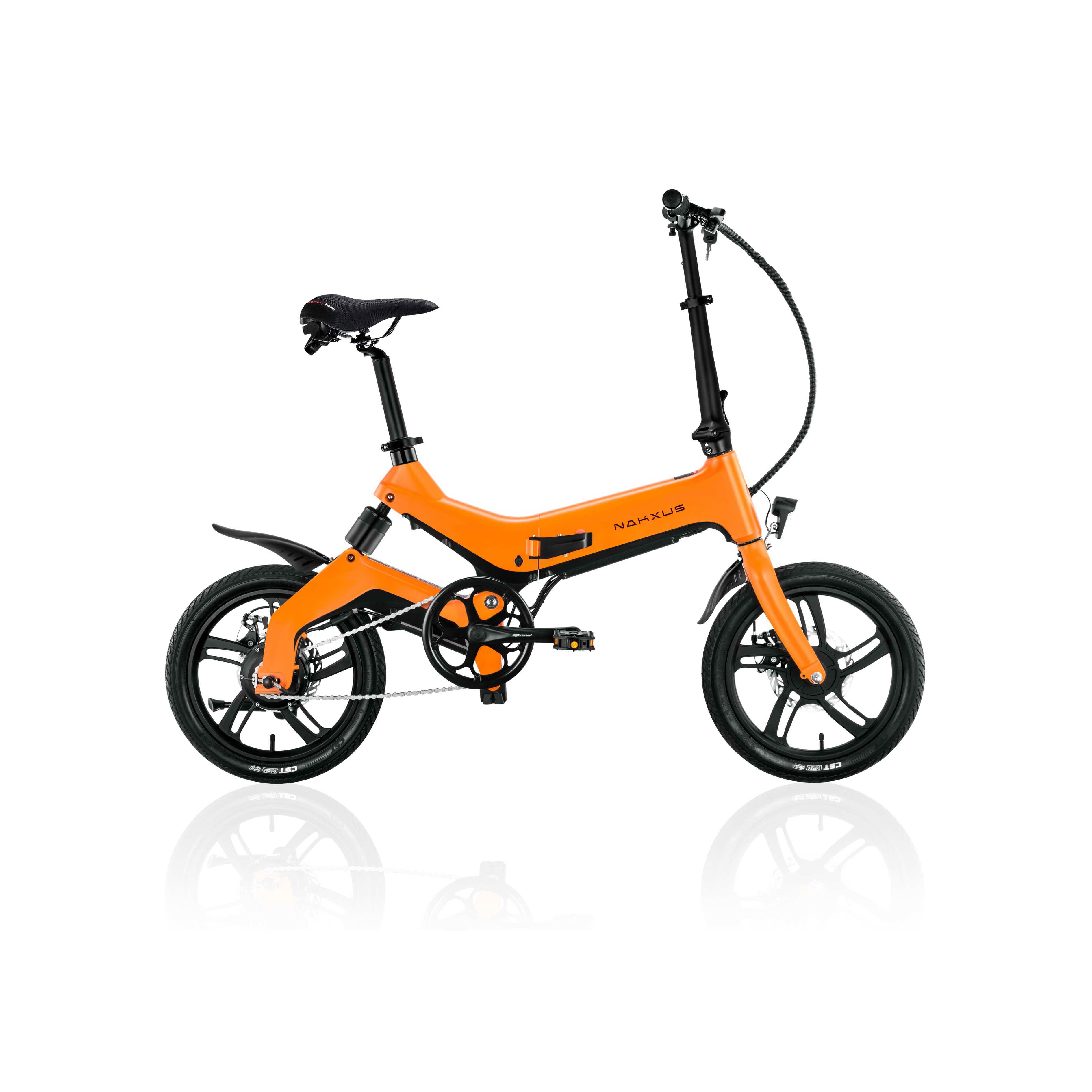16NF1 Custom 24V 36V 500w folding electric bike, 12 14 16 inch folding mini e-bike