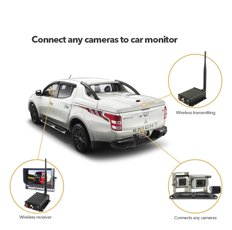 Aotop Electronics Rear View Safety Products Car Black Box Wireless Transmitter