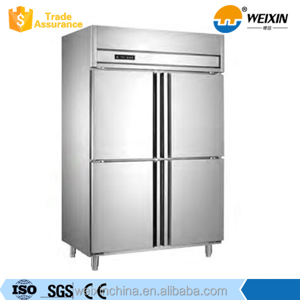 Upright 6 Doors Commercial Refrigerator And Freezer