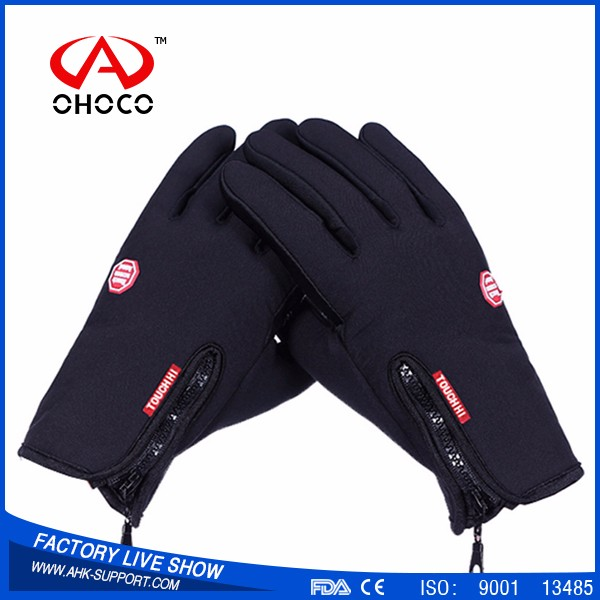Hot selling full finger cycling Driving Gloves, Waterproof Touch Screen gloves