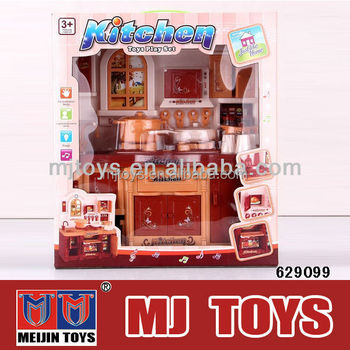 Musical kitchen toy set Bo flash kids kitchen set toy wholesale ...