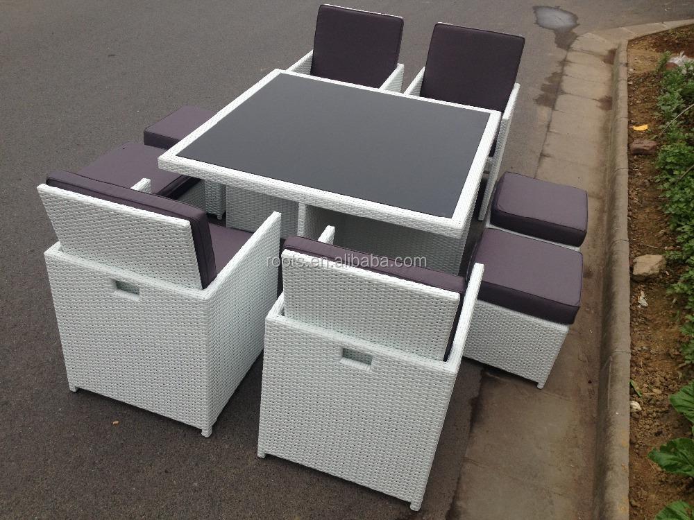 2016 rattan esterno set cubo sedie tavolo da giardino - Tavolo da giardino rattan ...