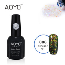 AOYO Groothandel Gratis Monsters OEM UV Led Glitter Nail <span class=keywords><strong>Gel</strong></span> Polish Shining <span class=keywords><strong>Gel</strong></span> Voor Nagels