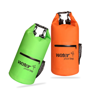 Sport Camping Swimming Boating Hiking Custom Logo 500D PVC Outdoor Ocean Pack Waterproof Dry Bag