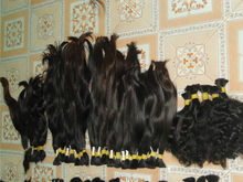 Vietnam single drawn straight hair with cheap price