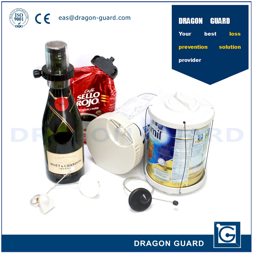 supermarket anti-theft alarm magnetic buckle/bottle buckle / milk buckle, wine anti-theft bottle cap