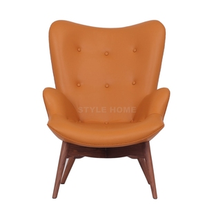 Awe Inspiring Replica Grant Featherston Contour Lounge Chair With Ottoman Machost Co Dining Chair Design Ideas Machostcouk
