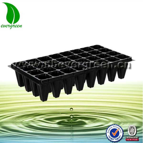 32 cells plastic trays agriculture depth plant pot trays for tree