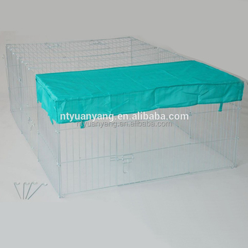 large outdoor wholesale galvanized dog enclosure