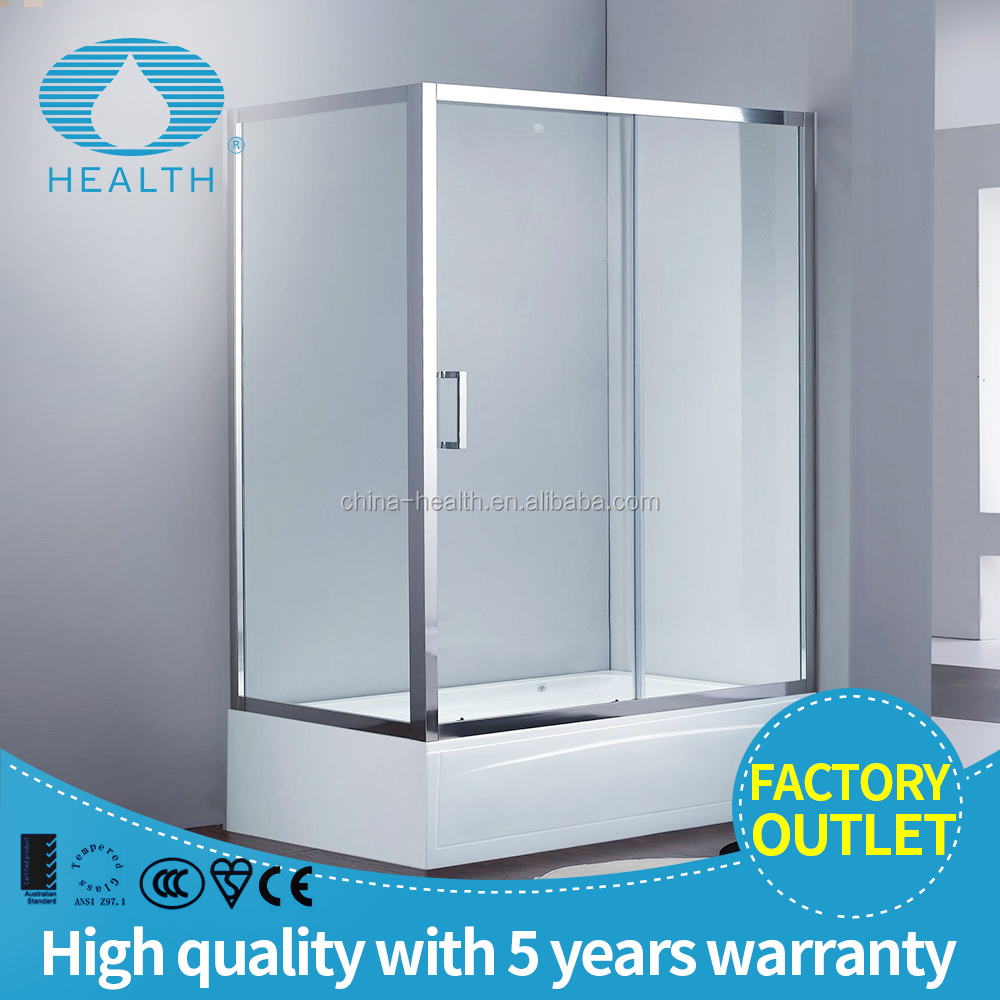 bath square sliding shower glass door room with accessories JP6201A