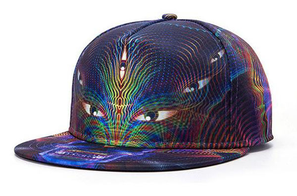 e81fc7e11b6 Get Quotations · Hot sale summer style women men Baseball Cap EYES Printed Snapback  snap back hat Unisex Hip
