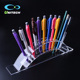 Beautiful Clear Acrylic Pen Holder Slots Premium Acrylic Pencil Display Stand