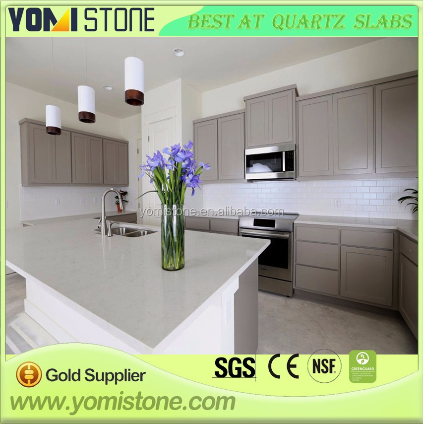 Fashion jazz white quartz countertop