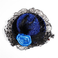 Fashion Cut Hat Shape Party Hat Clip Hair Made In China