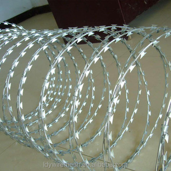 Military Concertina Razor Wire For Sale/ Direct Factory Razor Barbed ...