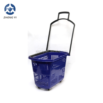 two handle shopping basket