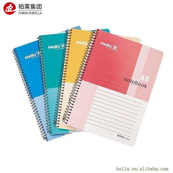Custom Paperback Spiral Paper School Notebookclassmate Notebook
